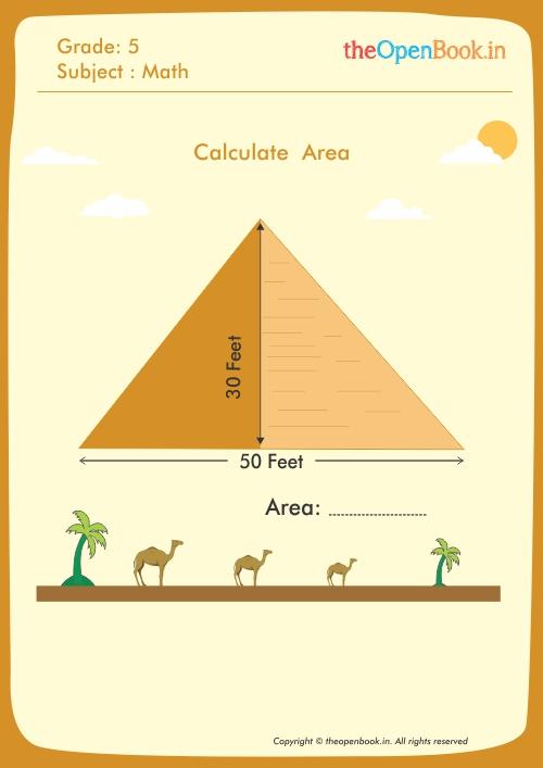 Calculate  Area