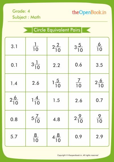 Circle Equivalent Pairs
