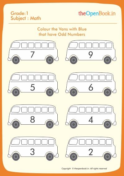 Colour the Vans with Blue