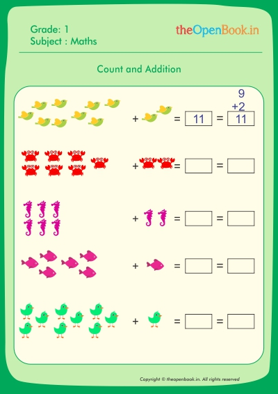 Count and Subtration