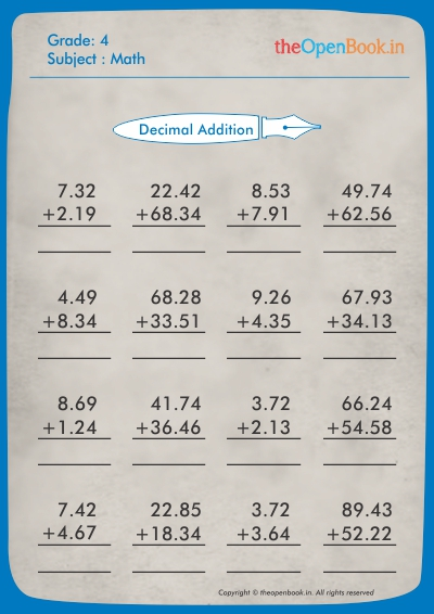Decimal Addition