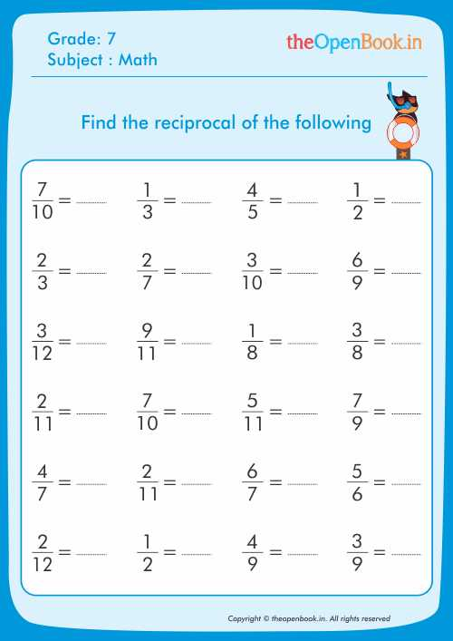 reciprocal math addition worksheet reciprocal best free printable worksheets. Black Bedroom Furniture Sets. Home Design Ideas