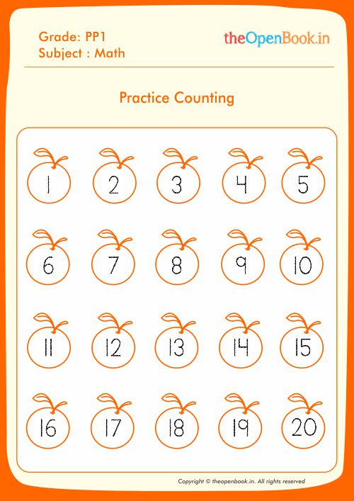 Practice Counting
