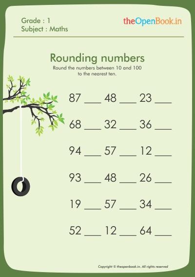 Rounding numbers