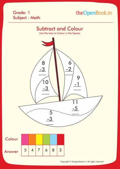 Subtract and Colour