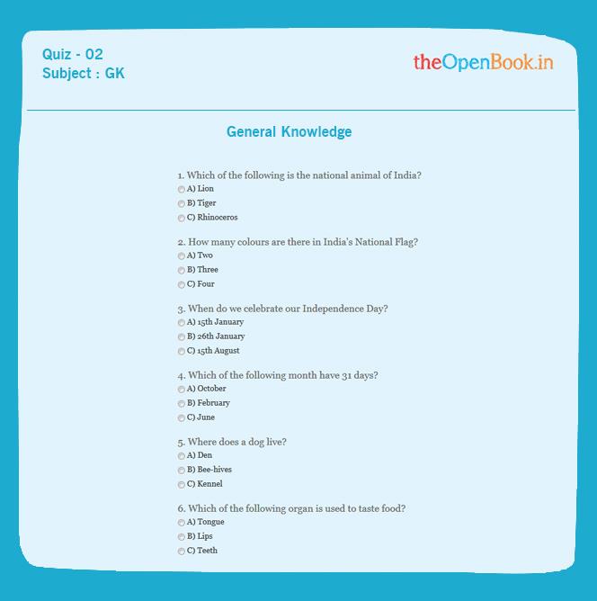 General Knowledge 02